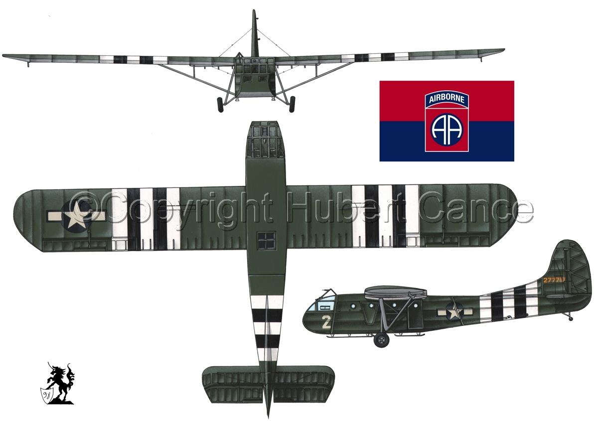 """Waco CG-4A """"Hadrian"""" (Flag #5.1) (large view)"""