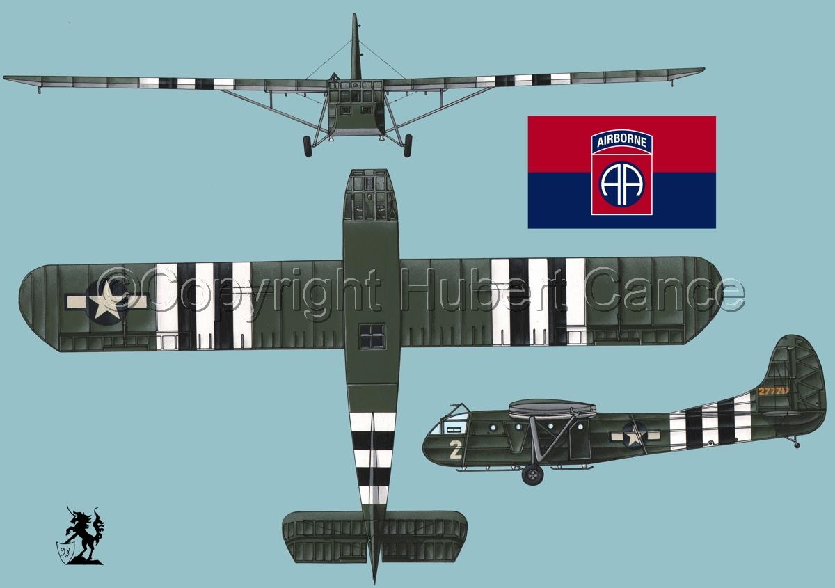 """Waco CG-4A """"Hadrian"""" (Flag #5.2) (large view)"""