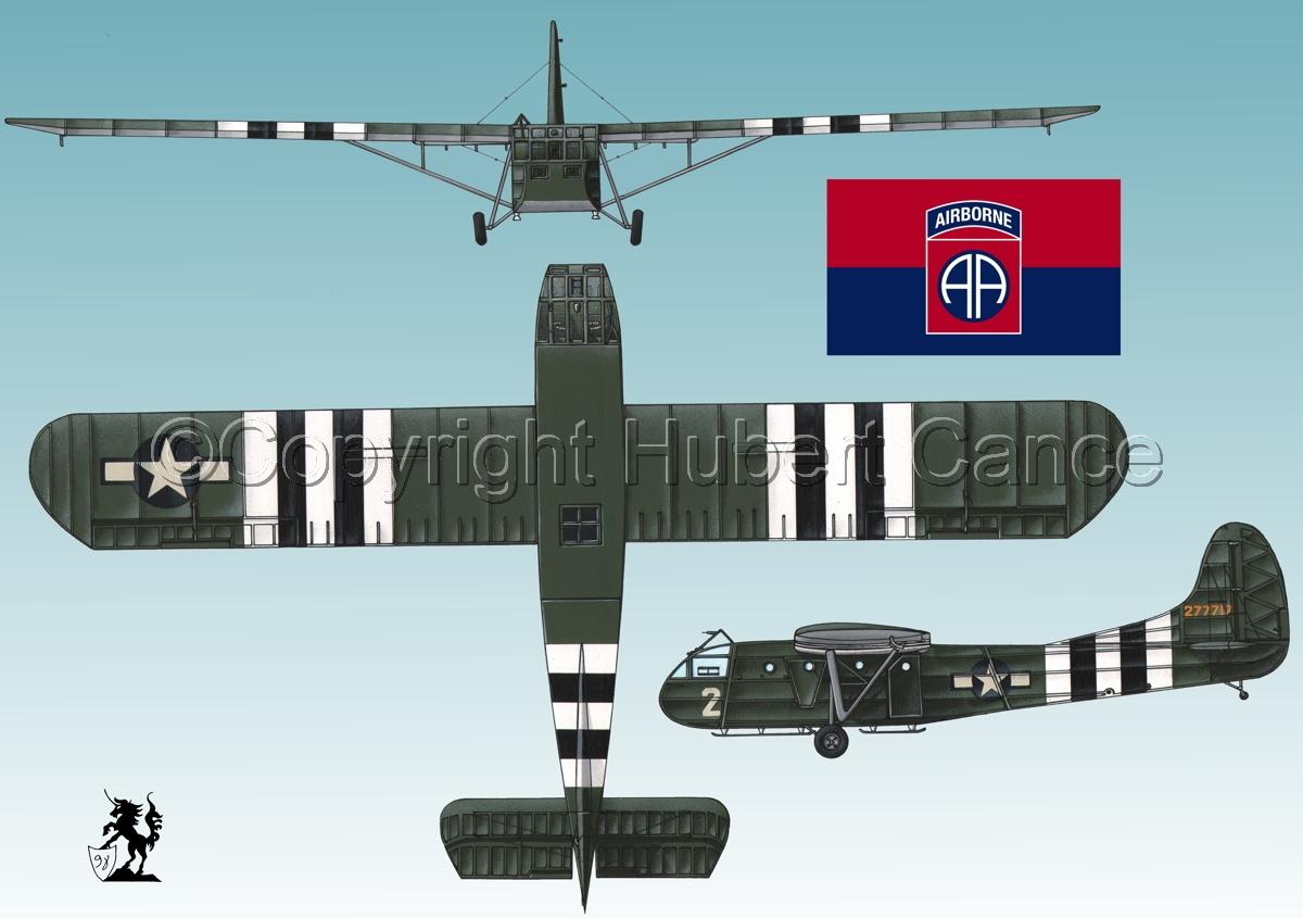 """Waco CG-4A """"Hadrian"""" (Flag #5.3) (large view)"""