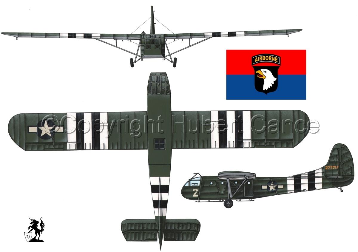 """Waco CG-4A """"Hadrian"""" (Flag #6.1) (large view)"""