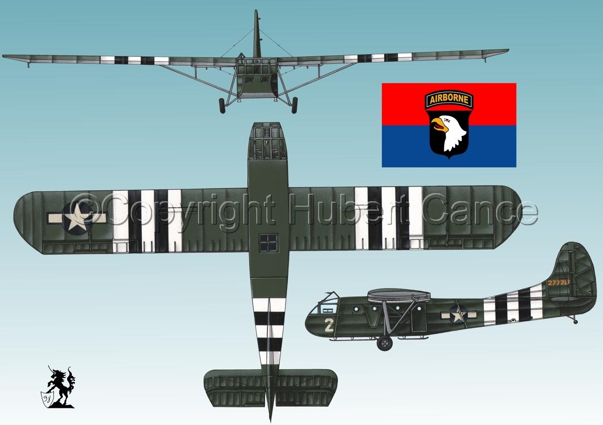 """Waco CG-4A """"Hadrian"""" (Flag #6.3) (large view)"""