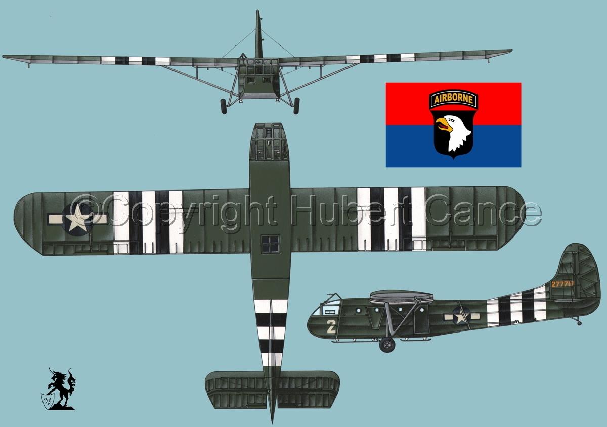 """Waco CG-4A """"Hadrian"""" (Flag #6.2) (large view)"""