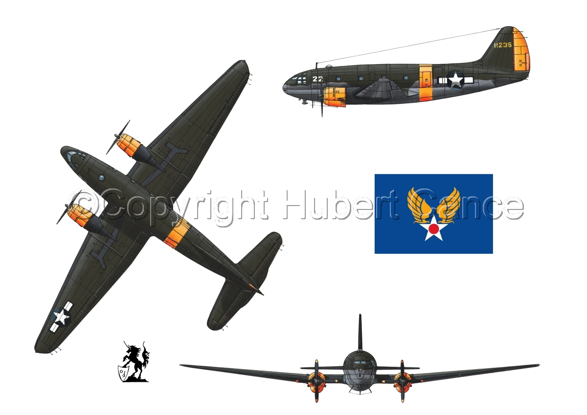 "Curtiss C-46A-15 CU ""Commando"" (Flag #2.1) (large view)"