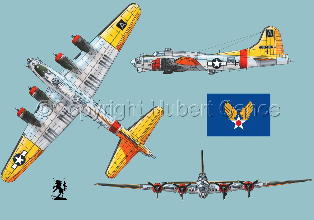 "Boeing B-17G-85-DL ""Flying Fortress"" (Flag #2.2) (large view)"