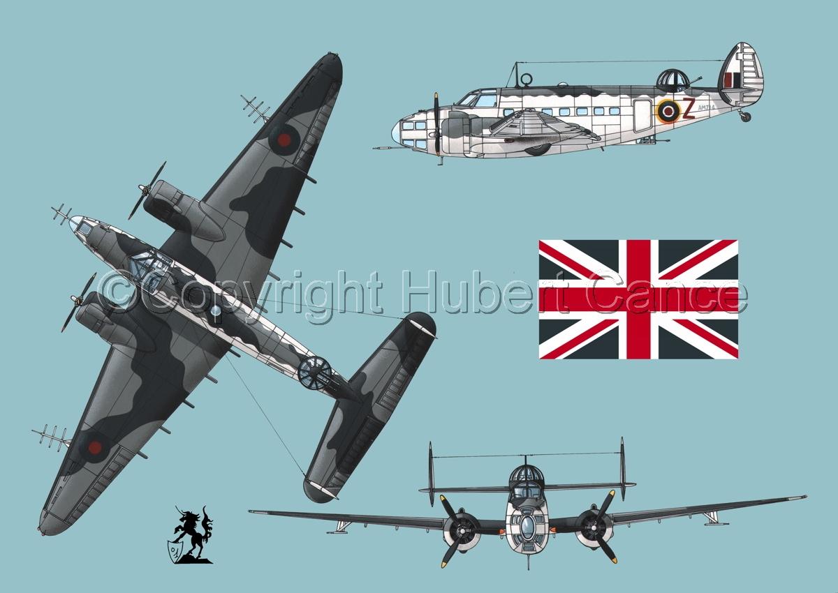 "Lockheed ""Hudson V"" (Flag #1.2) (large view)"
