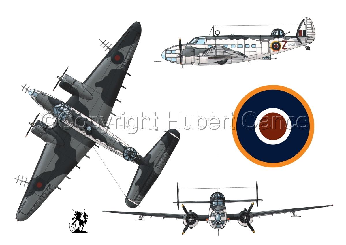 """Lockheed """"Hudson V"""" (Roundel #1.1) (large view)"""