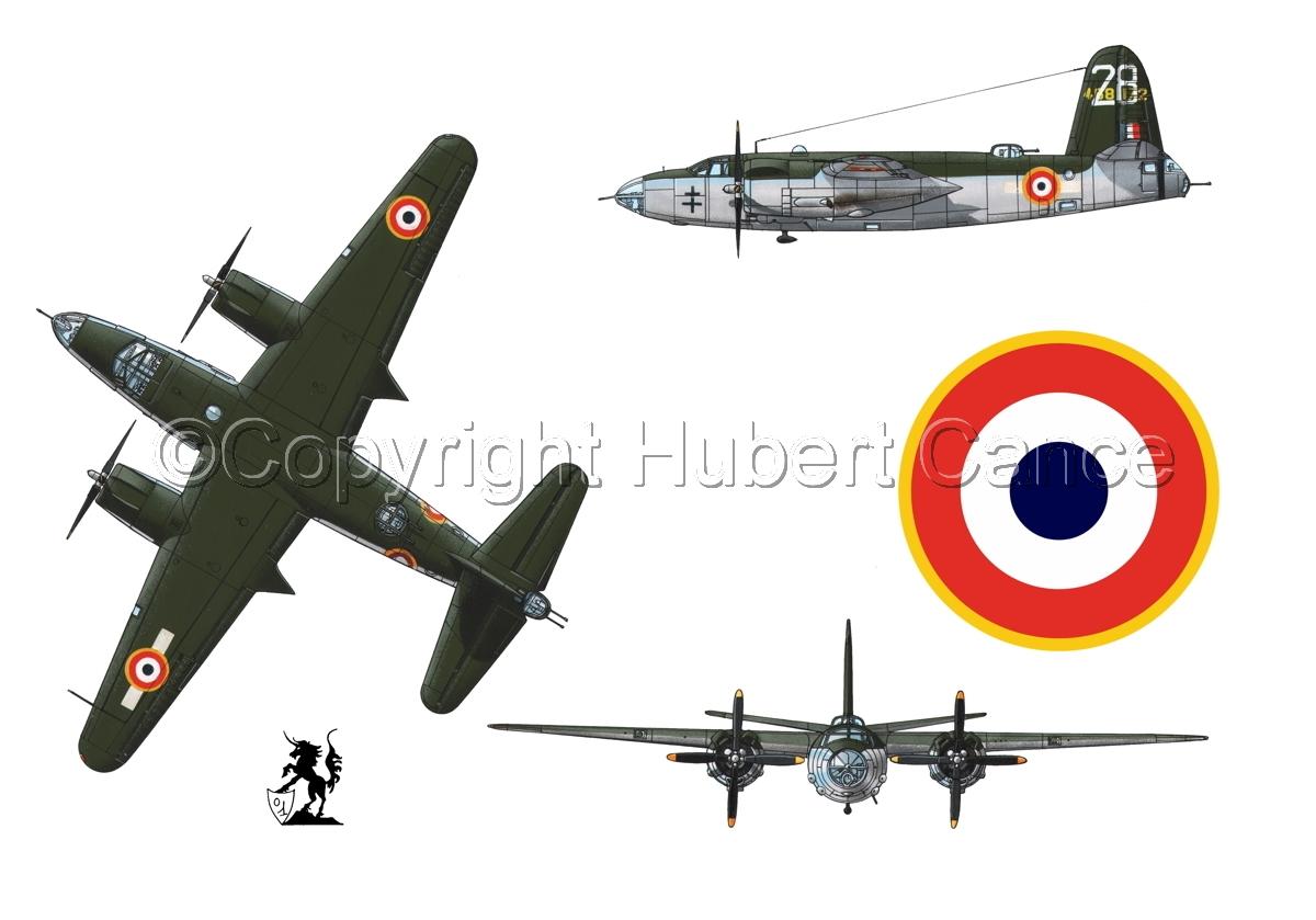 "Martin B-26G ""Marauder"" (Roundel #1.1) (large view)"