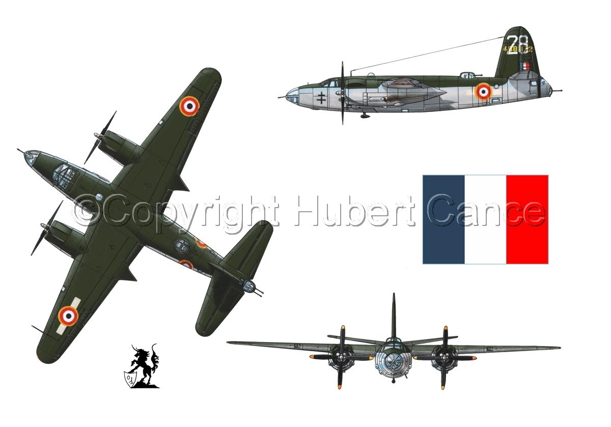 "Martin B-26G ""Marauder"" (Flag #1.1) (large view)"