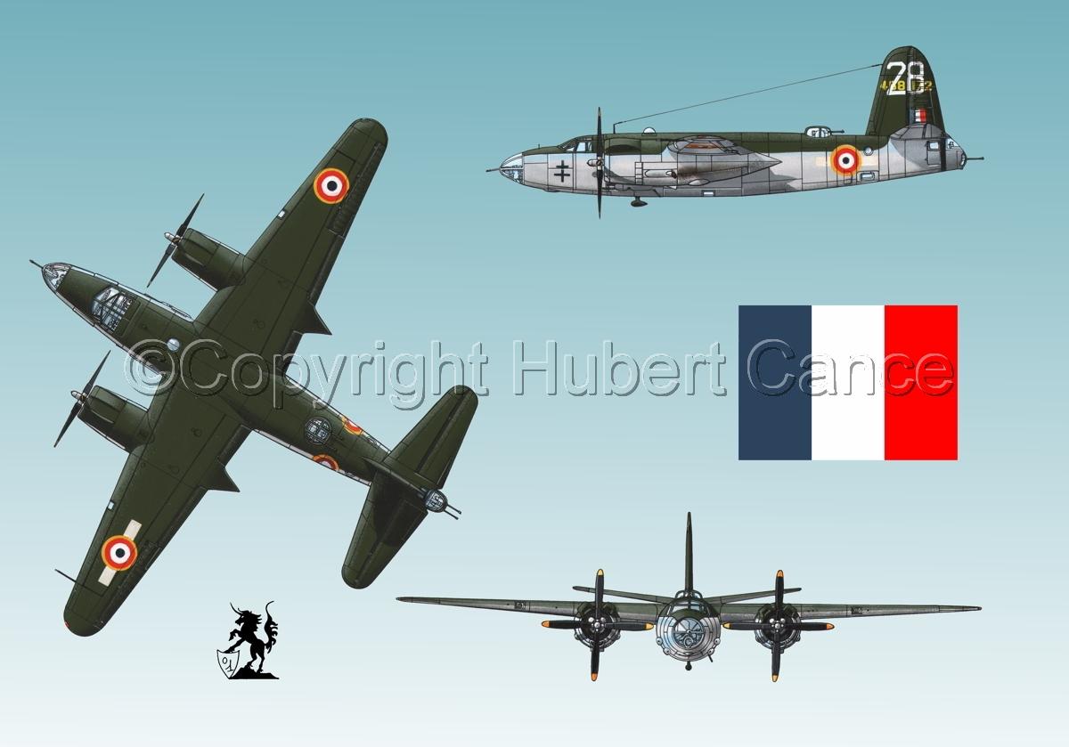 "Martin B-26G ""Marauder"" (Flag #1.3) (large view)"