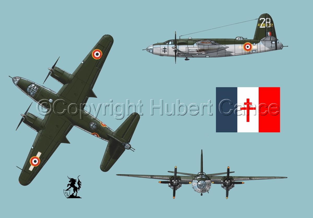 "Martin B-26G ""Marauder"" (Flag #2.2) (large view)"