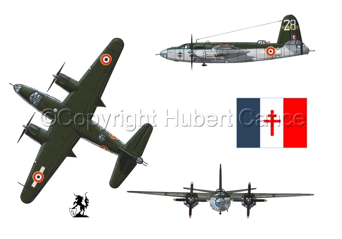 "Martin B-26G ""Marauder"" (Flag #2.1) (large view)"