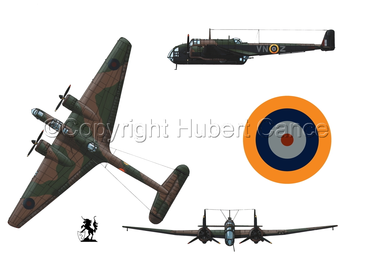 "Handley Page ""Hampden"" B.1 (Roundel #1.1) (large view)"