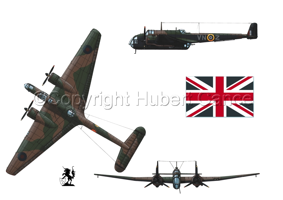 """Handley Page """"Hampden"""" B.1 (Flag #1.1) (large view)"""