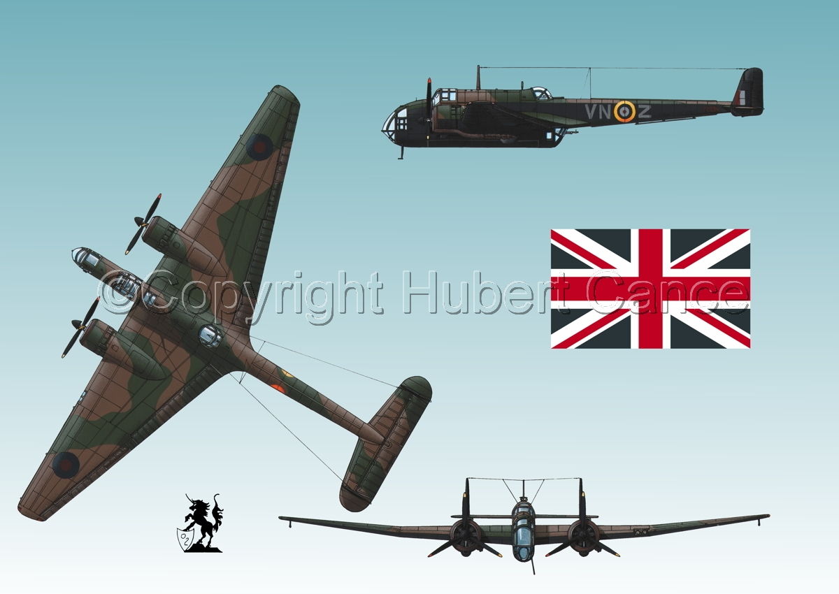 """Handley Page """"Hampden"""" B.1 (Flag #1.3) (large view)"""