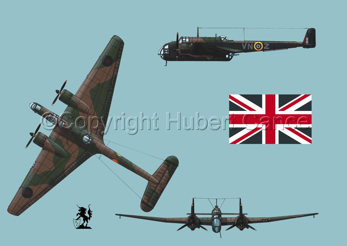 "Handley Page ""Hampden"" B.1 (Flag #1.2) (large view)"
