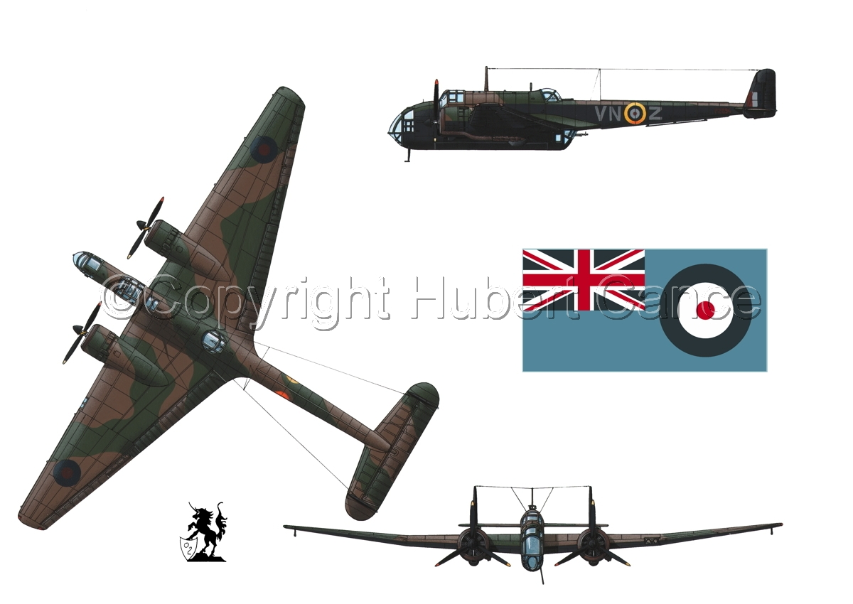 "Handley Page ""Hampden"" B.1 (Flag #2.1) (large view)"