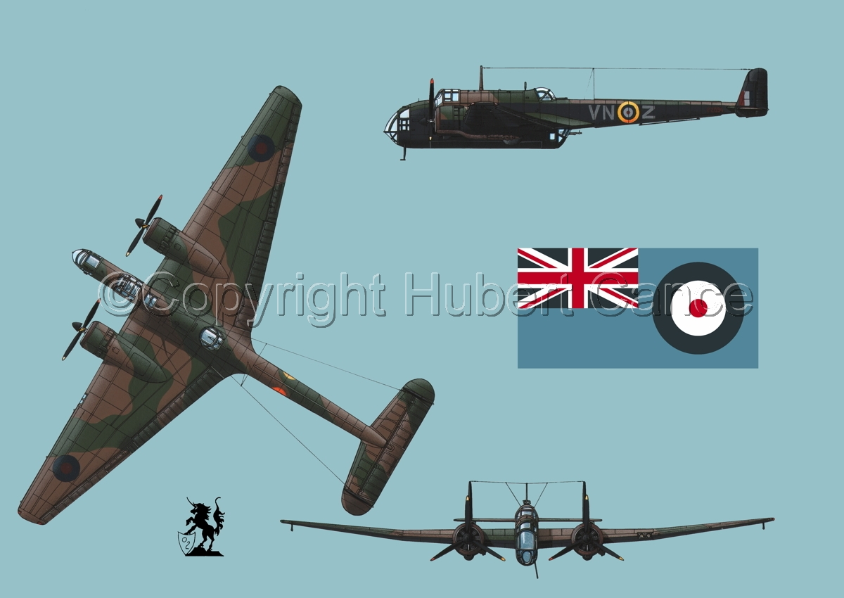 "Handley Page ""Hampden"" B.1 (Flag #2.2) (large view)"