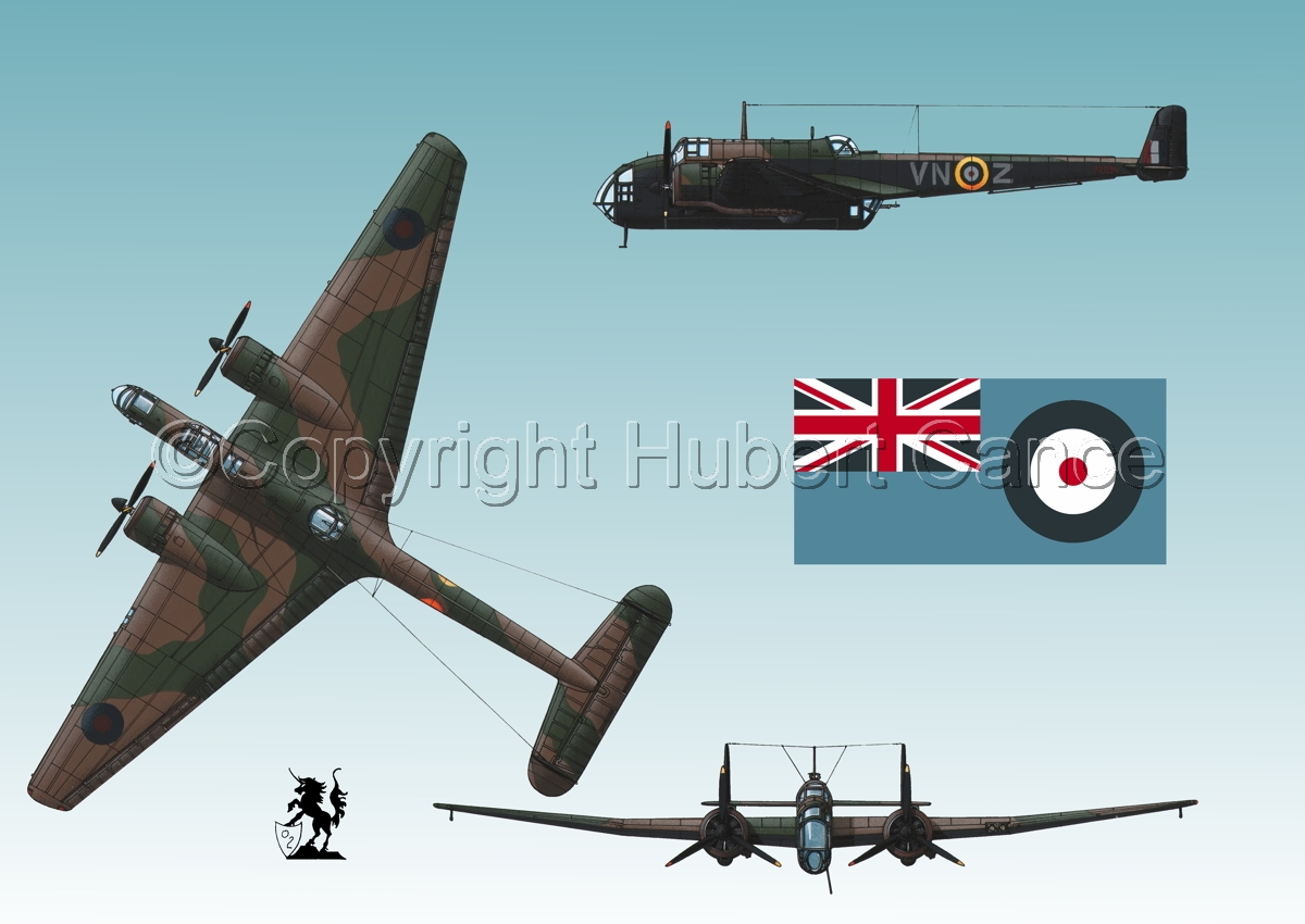 "Handley Page ""Hampden"" B.1 (Flag #2.3) (large view)"