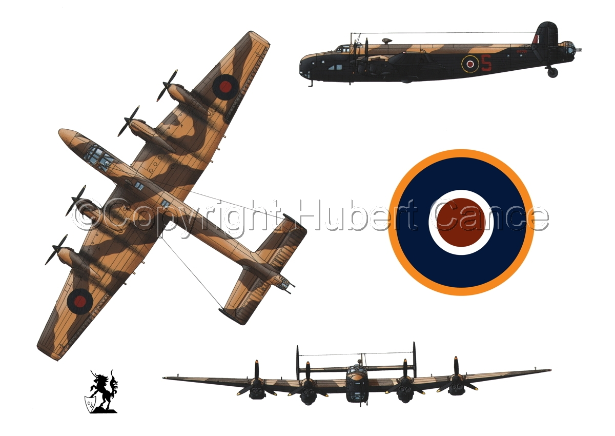 "Handley-Page ""Halifax"" B.II Series 1 (Special) (Roundel #1.1) (large view)"