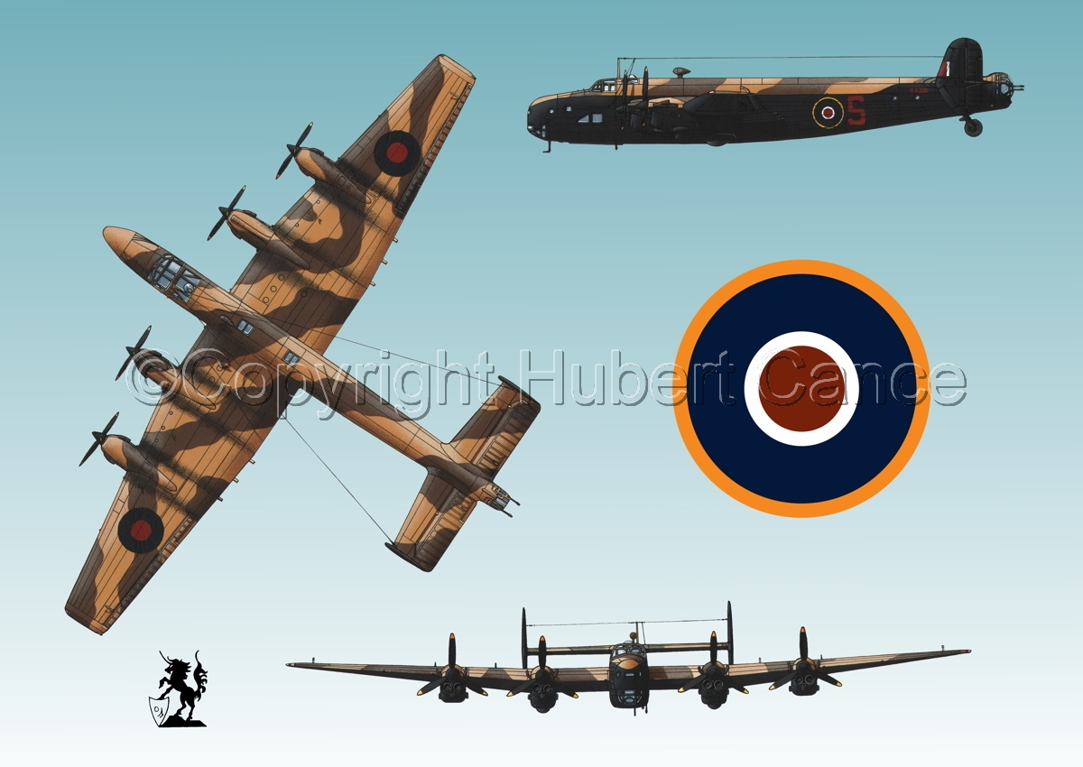 "Handley-Page ""Halifax"" B.II Series 1 (Special) (Roundel #1.3) (large view)"