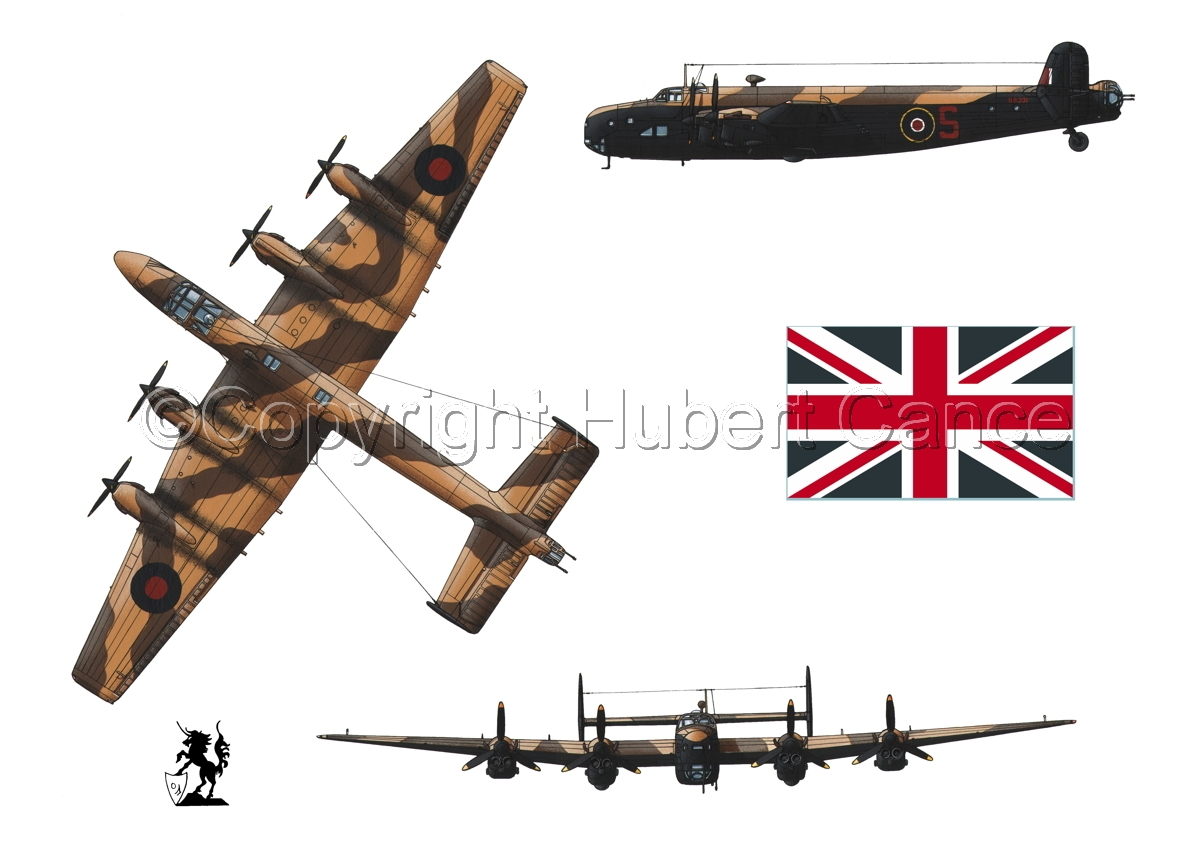 "Handley-Page ""Halifax"" B.II Series 1 (Special) (Flag #1.1) (large view)"