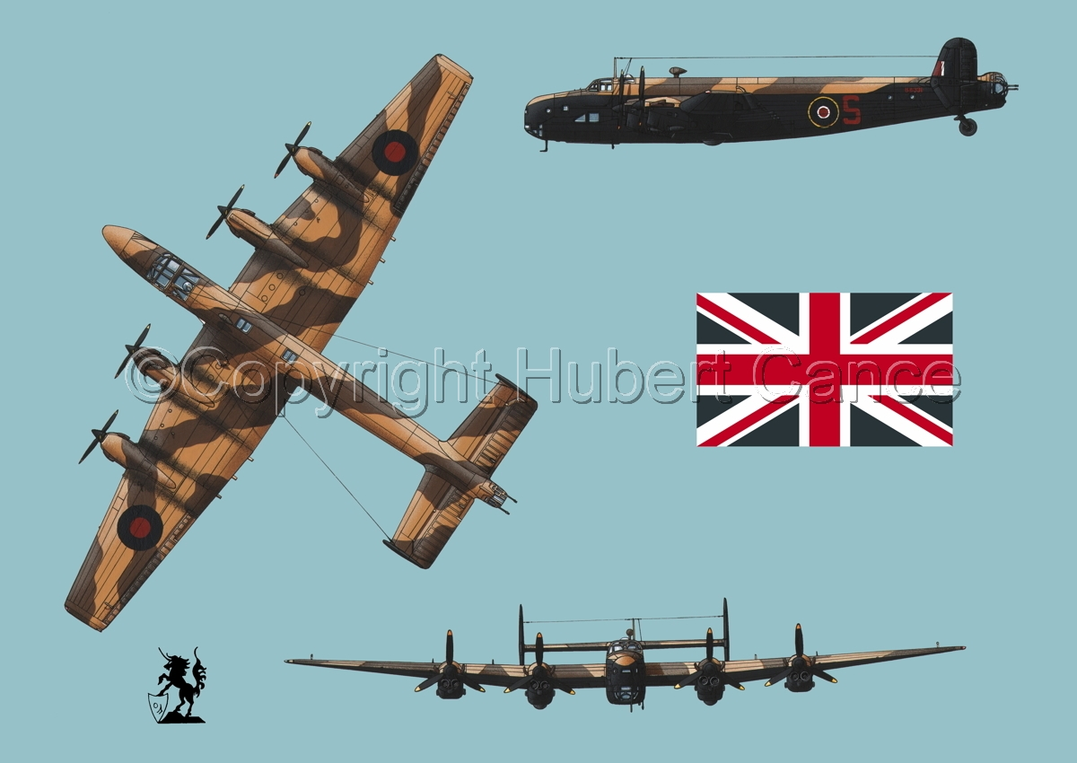 "Handley-Page ""Halifax"" B.II Series 1 (Special) (Flag #1.2) (large view)"