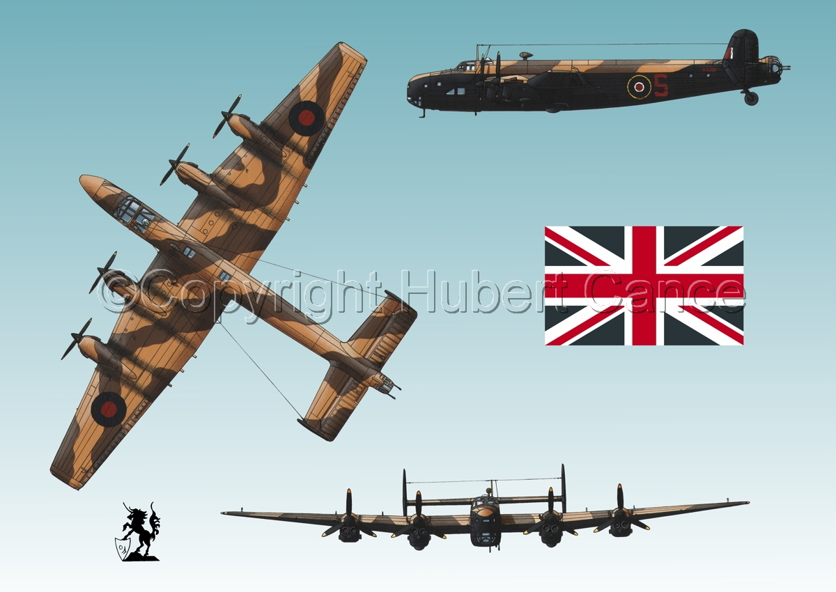 """Handley-Page """"Halifax"""" B.II Series 1 (Special) (Flag #1.3) (large view)"""