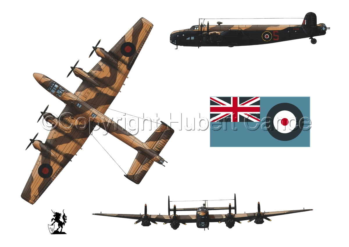 """Handley-Page """"Halifax"""" B.II Series 1 (Special) (Flag #2.1) (large view)"""