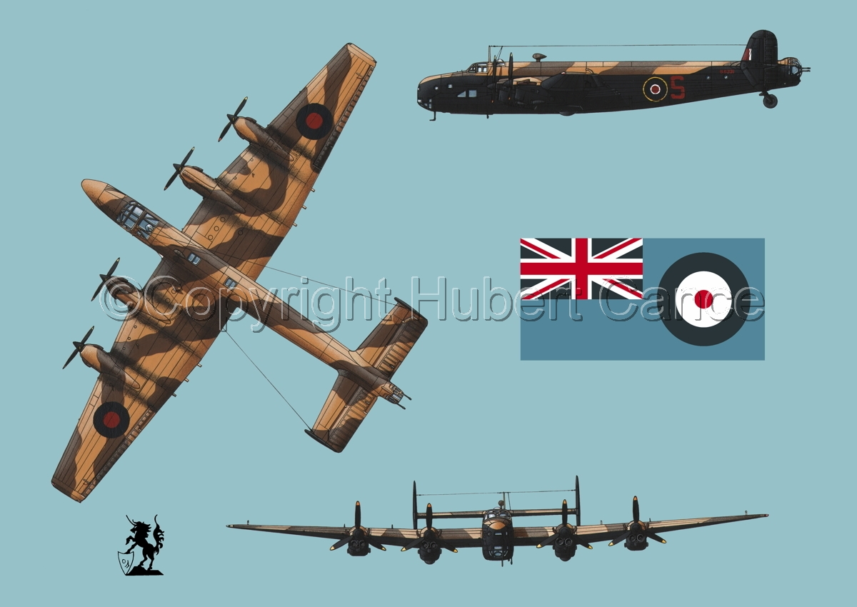"Handley-Page ""Halifax"" B.II Series 1 (Special) (Flag #2.2) (large view)"