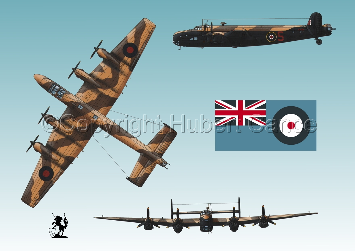 "Handley-Page ""Halifax"" B.II Series 1 (Special) (Flag #2.3) (large view)"