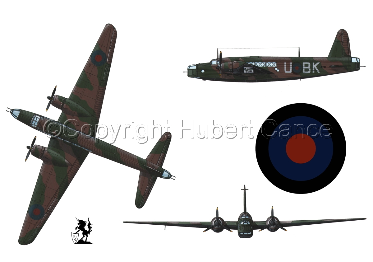 "Vickers ""Wellington"" B.I (Roundel #1.1) (large view)"