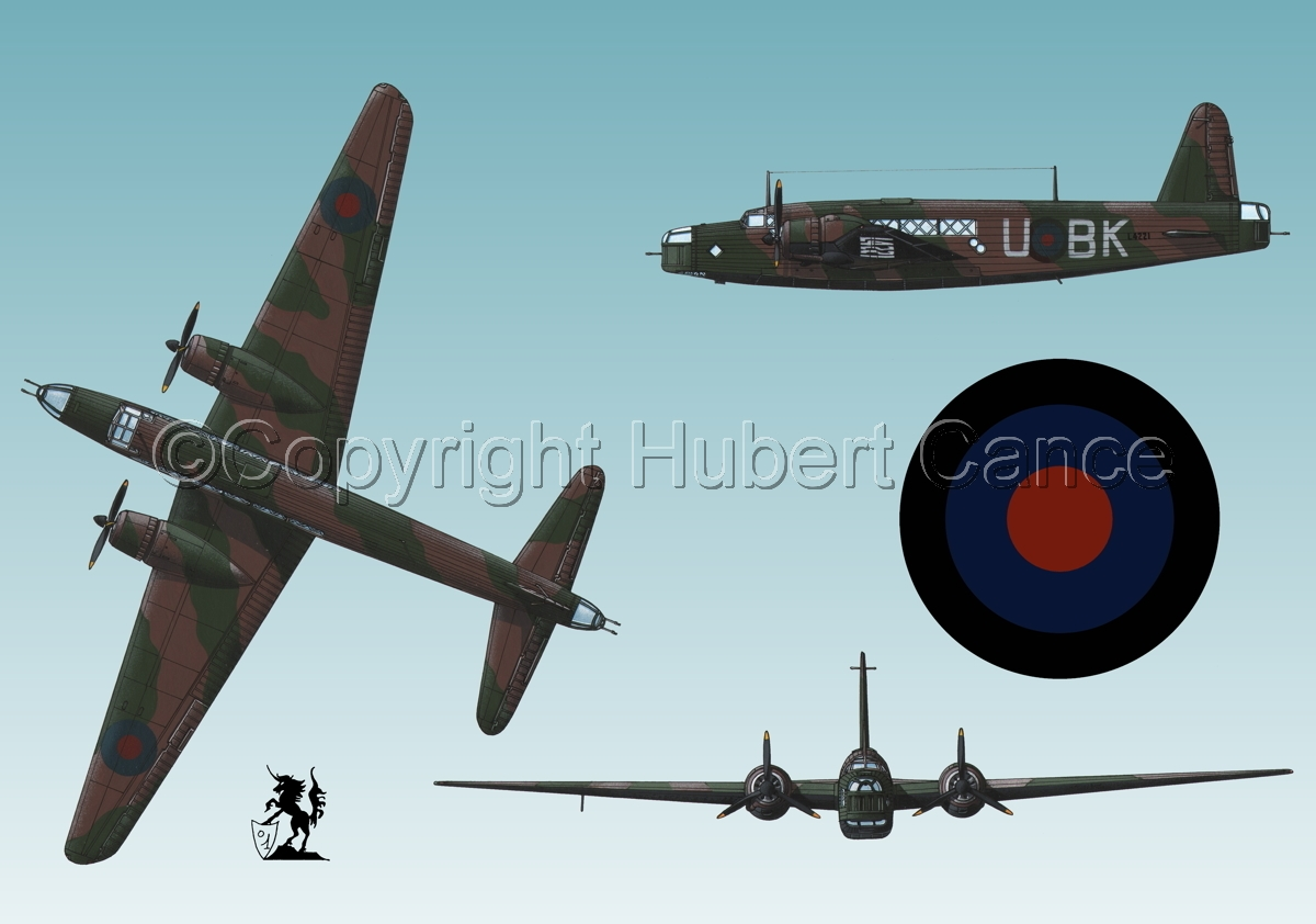 "Vickers ""Wellington"" B.I (Roundel #1.3) (large view)"