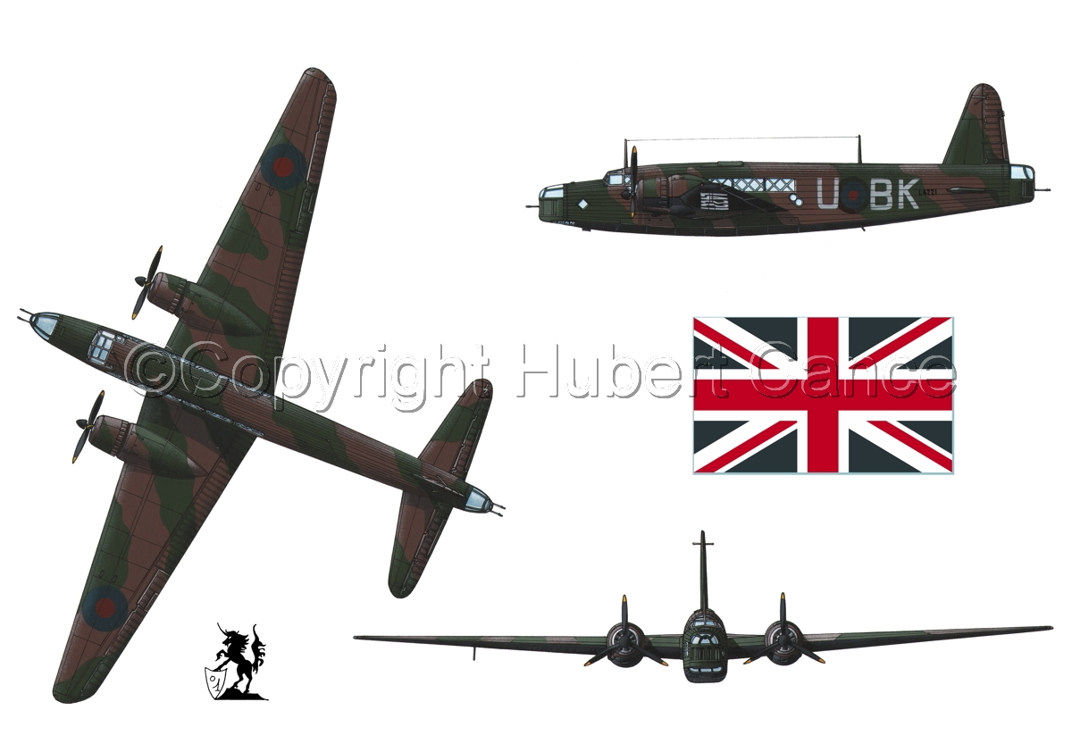 "Vickers ""Wellington"" B.I (Flag #1.1) (large view)"