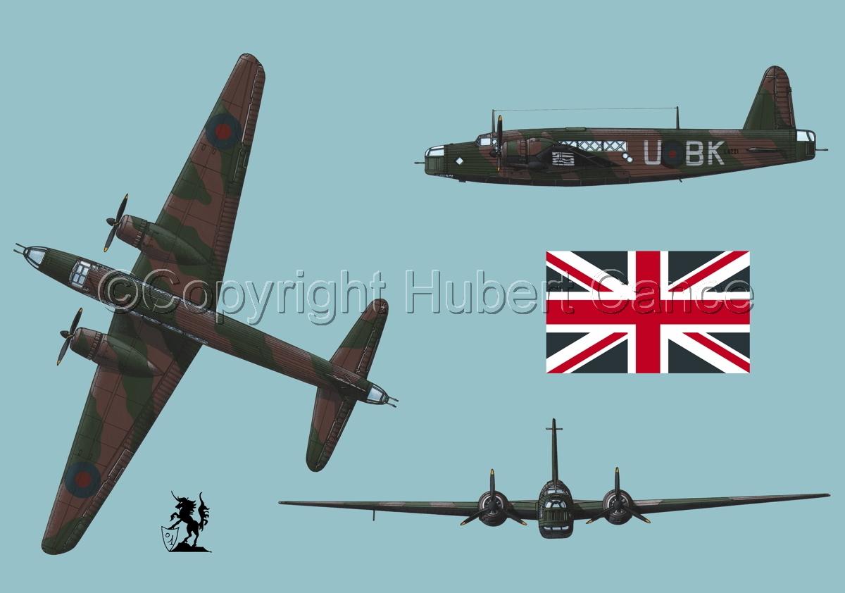 "Vickers ""Wellington"" B.I (Flag #1.2) (large view)"