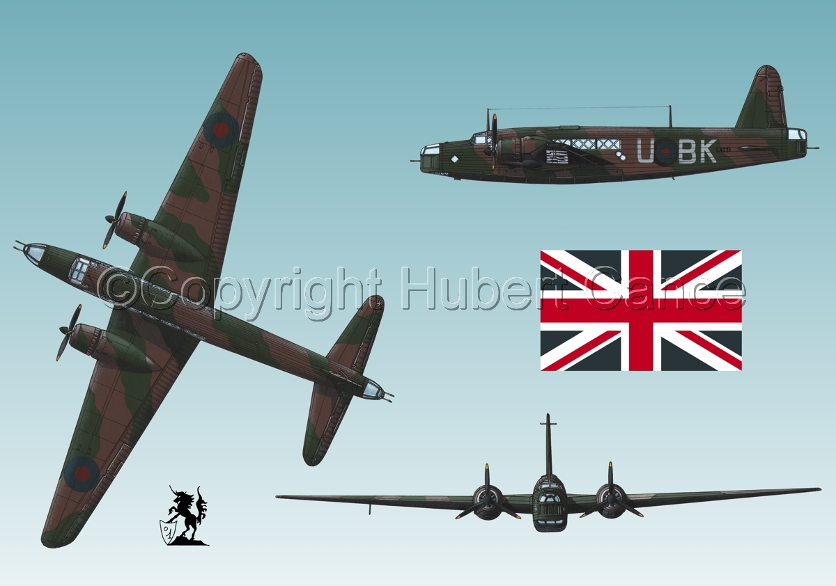 "Vickers ""Wellington"" B.I (Flag #1.3) (large view)"