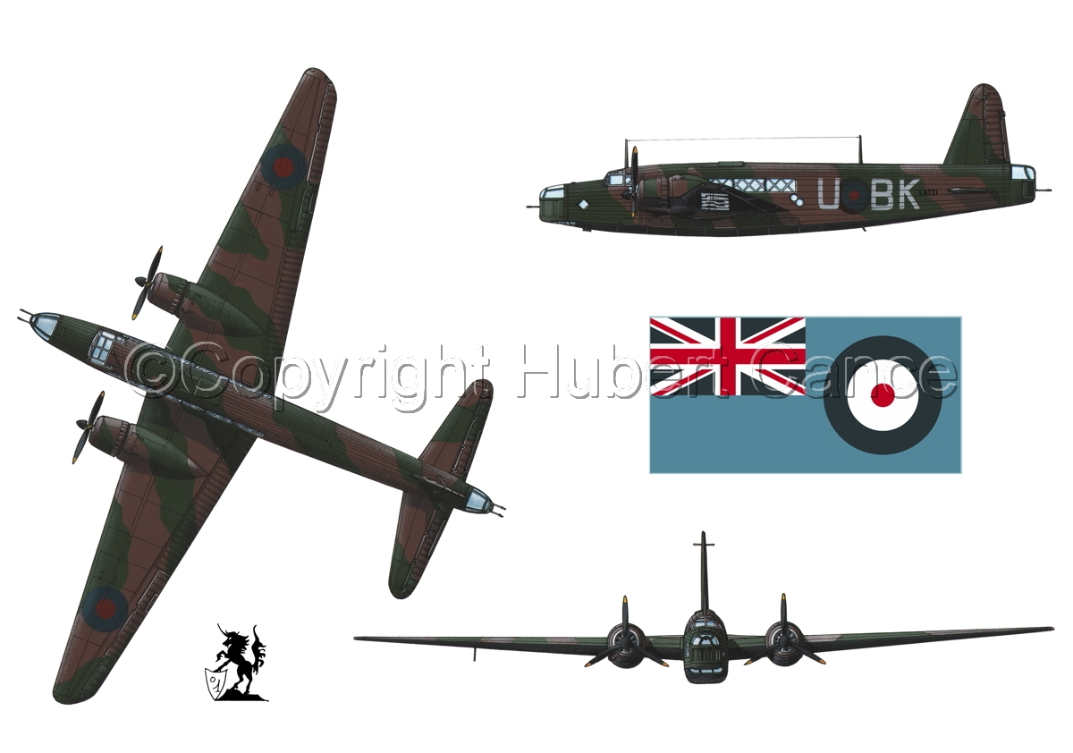 "Vickers ""Wellington"" B.I (Flag #2.1) (large view)"
