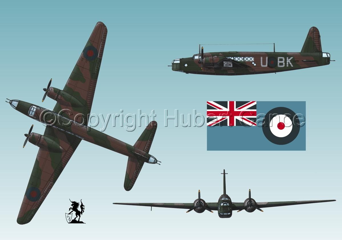 "Vickers ""Wellington"" B.I (Flag #2.3) (large view)"