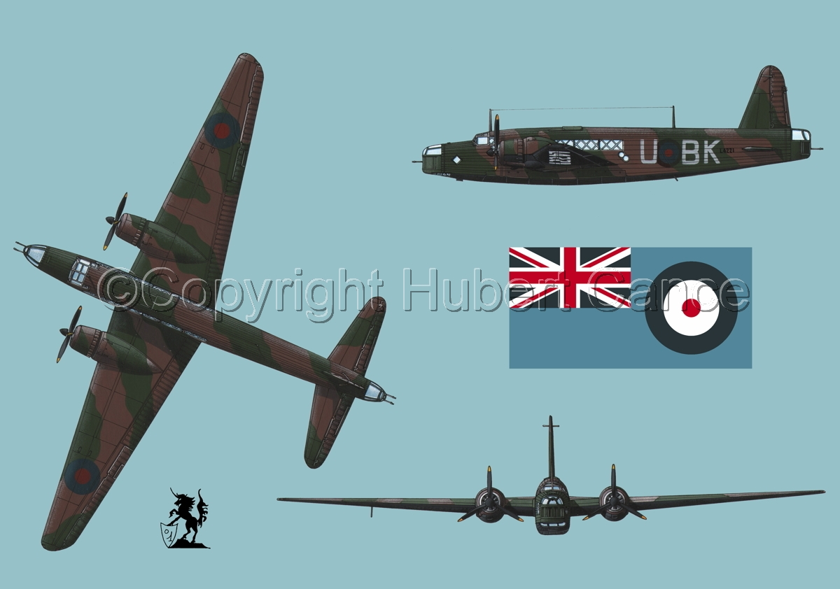 "Vickers ""Wellington"" B.I (Flag #2.2) (large view)"