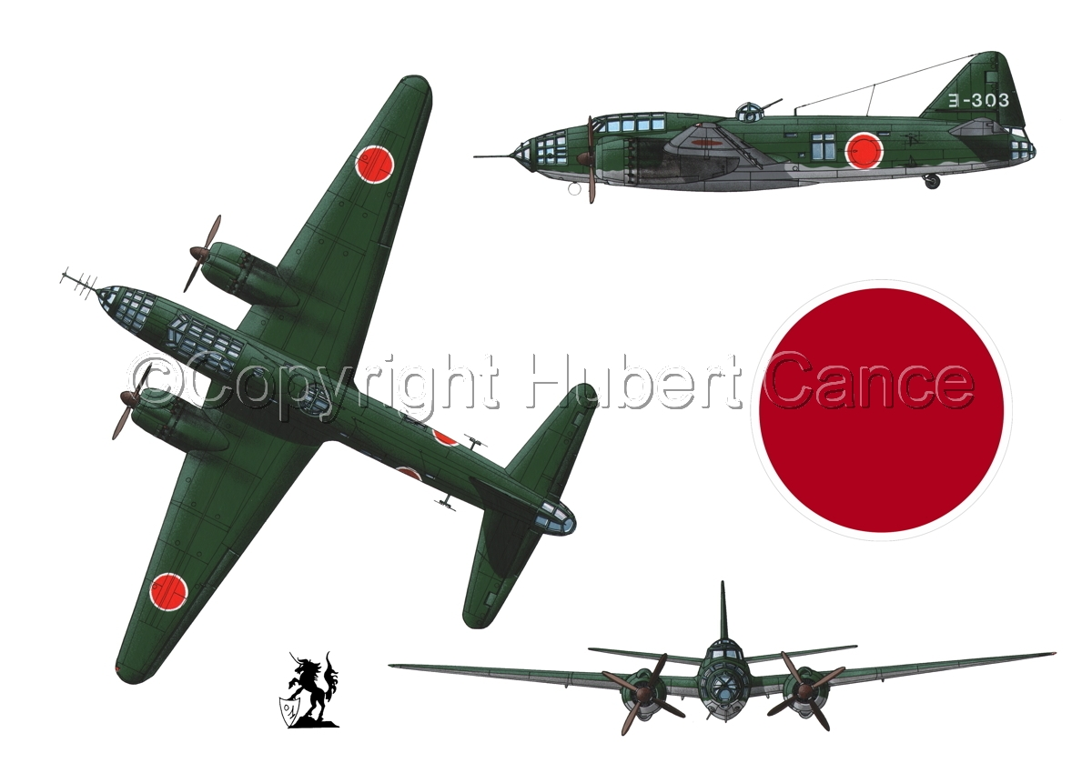 "Mitsubishi G4M3 ""Betty"" (Roundel #1.1) (large view)"