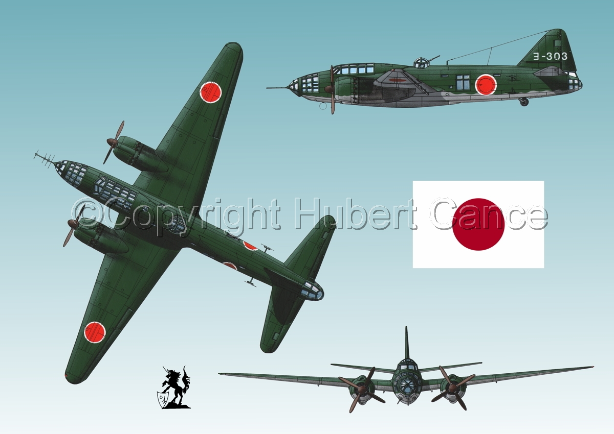 "Mitsubishi G4M3 ""Betty"" (Flag #1.3) (large view)"