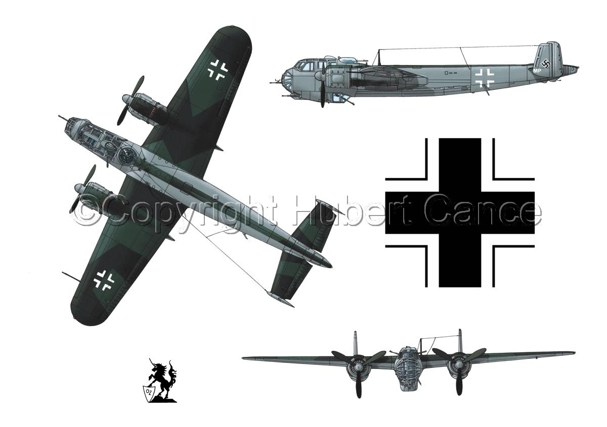 Dornier Do 217E-2 (Roundel #1.1) (large view)