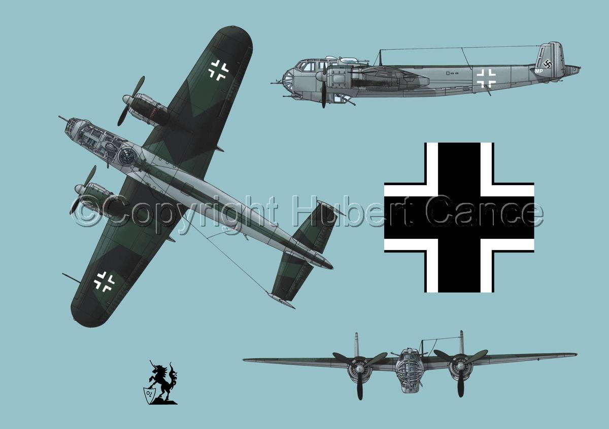 Dornier Do 217E-2 (Roundel #1.2) (large view)