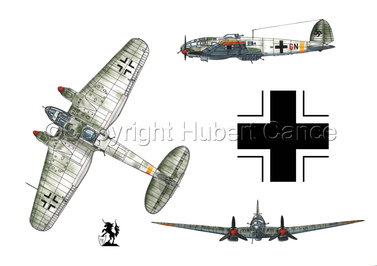 Heinkel He 111H-16 (Roundel #1.1) (large view)
