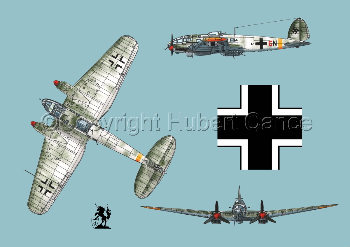 Heinkel He 111H-16 (Roundel #1.2) (large view)