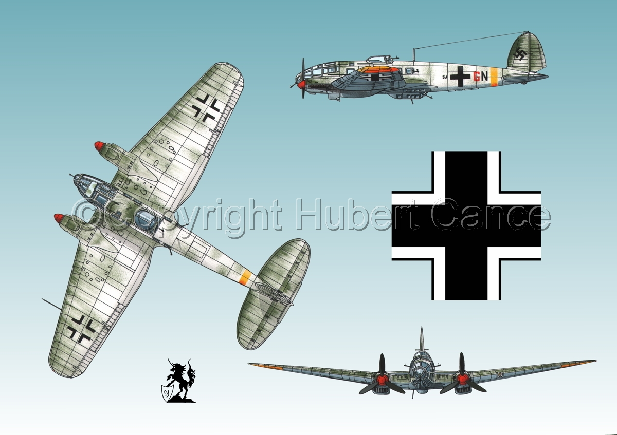Heinkel He 111H-16 (Roundel #1.3) (large view)