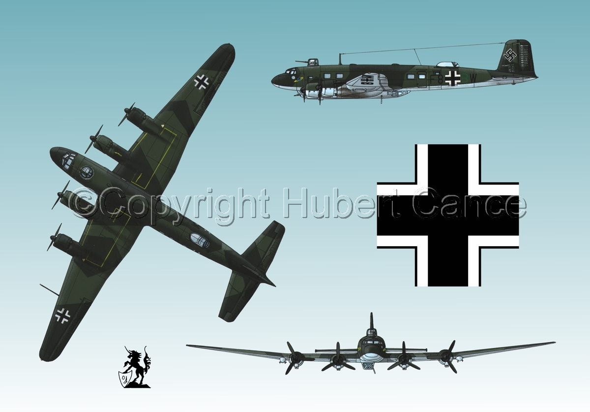 "Focke-Wulf Fw 200C-4 ""Condor"" (Roundel #1.3) (large view)"