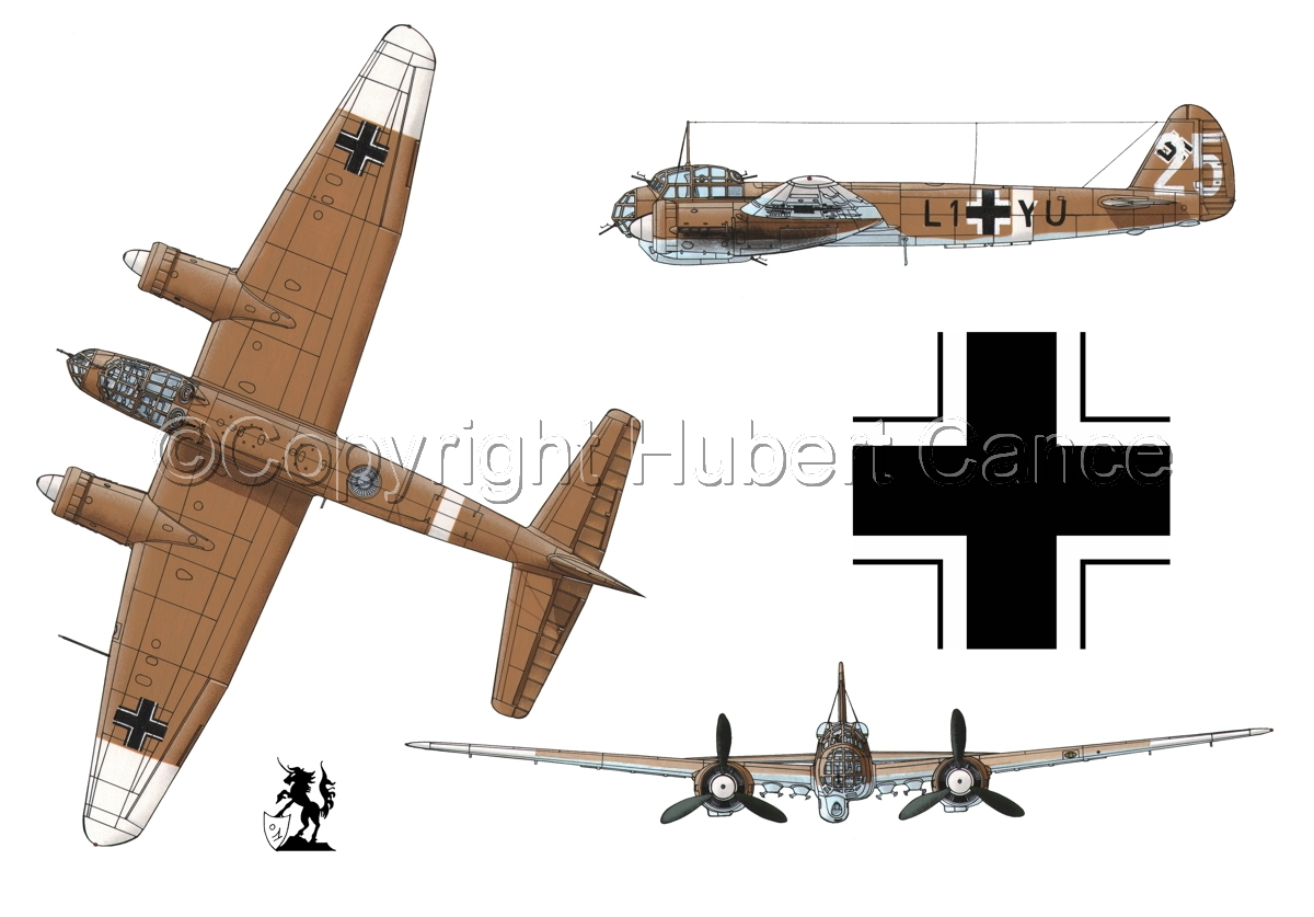 Junkers Ju 88A-4 (Roundel #1.1) (large view)