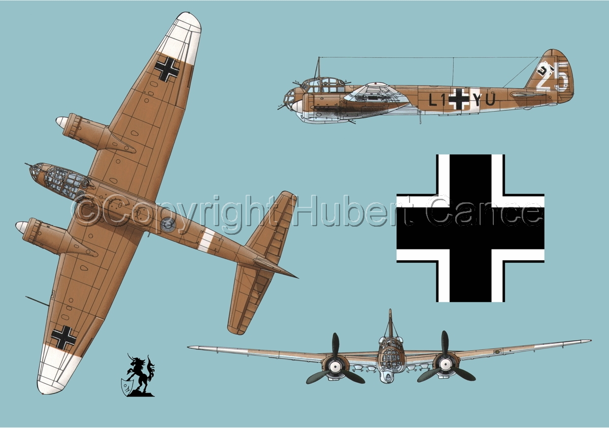 Junkers Ju 88A-4 (Roundel #1.2) (large view)