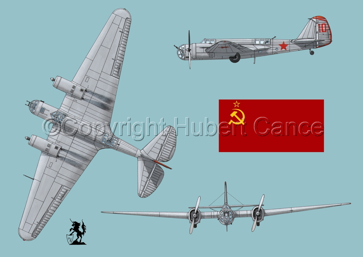"Tupolev SB-2 ""Katyusha"" (Flag #1.2) (large view)"