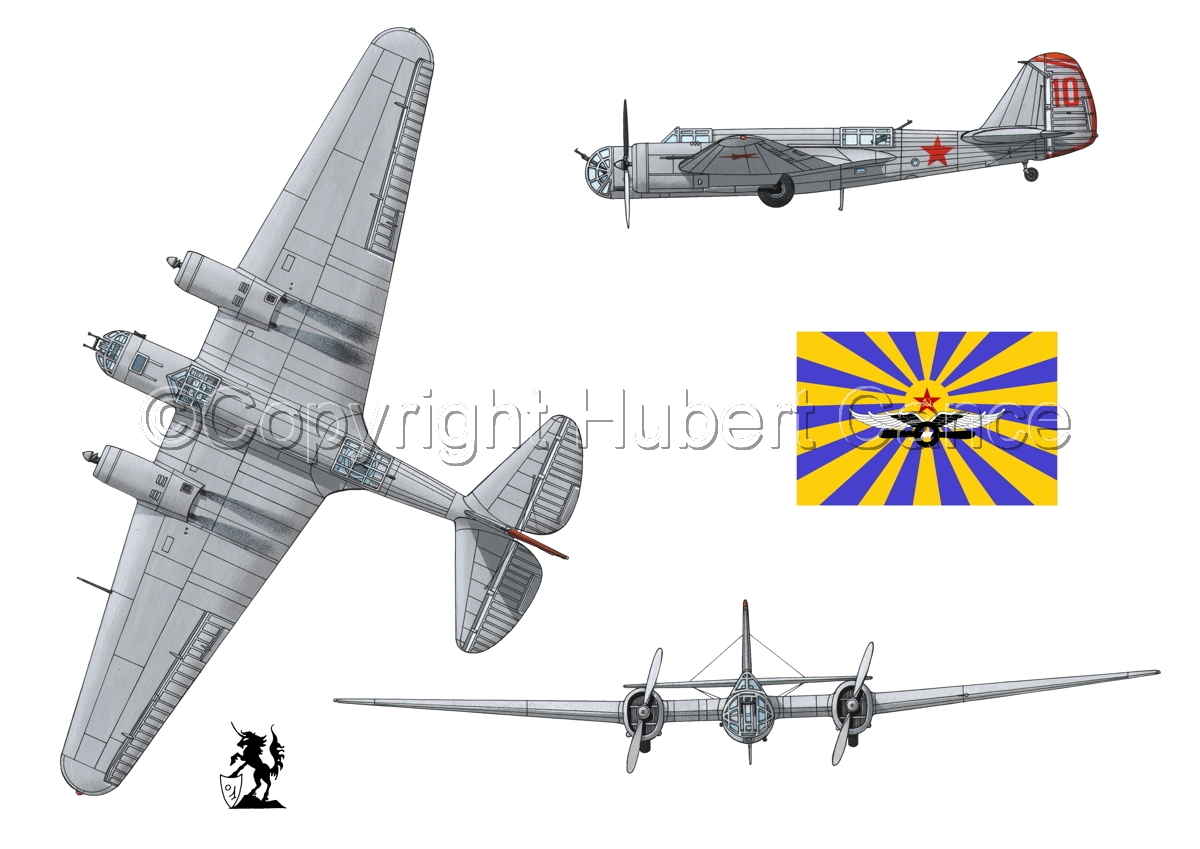 "Tupolev SB-2 ""Katyusha"" (Flag #2.1) (large view)"